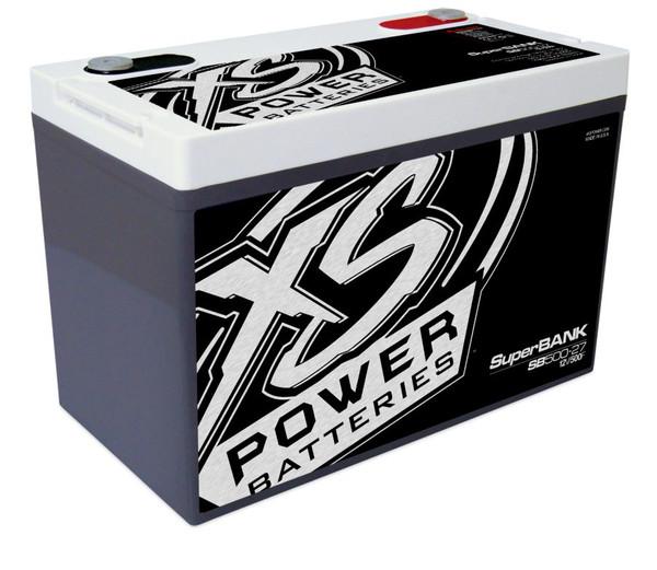 XS Power SB500-27 12V Super Capacitor Bank, Group 27, Max Power 4,000W, 500 Farad