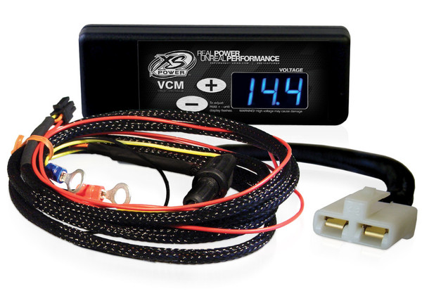 "XS Power Controller and Harness for GM ""SI"" Series Alternators (1969 to 1988), Blue Display"