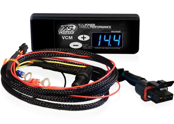"XS Power Controller and Harness for GM ""CS"" Series Alternators (1986 to 1997), Blue Display"