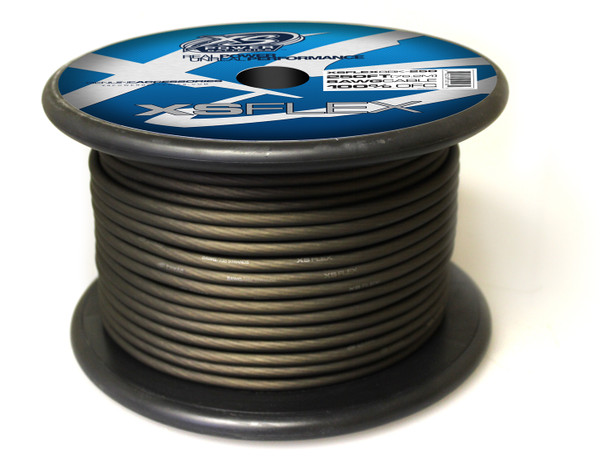 XS FLEX BLACK 8 AWG OFC CABLE 250' Spool