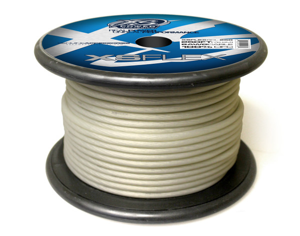 XS FLEX CLEAR 8 AWG OFC CABLE 250' Spool