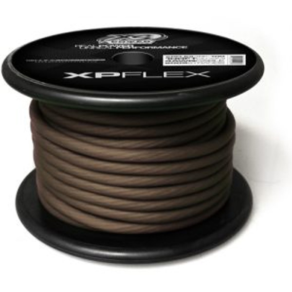 XP FLEX BLACK 4 AWG CCA CABLE CABLE 100' Spool