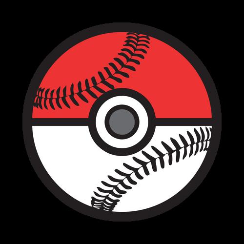 Poke Baseball Knob Sticker