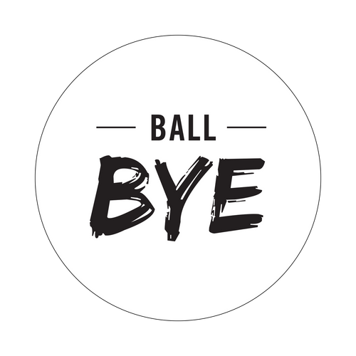Ball Bye Knob Sticker