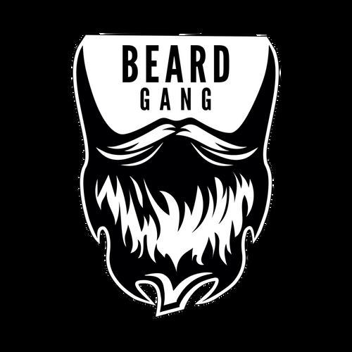 Beard Gang Knob Sticker