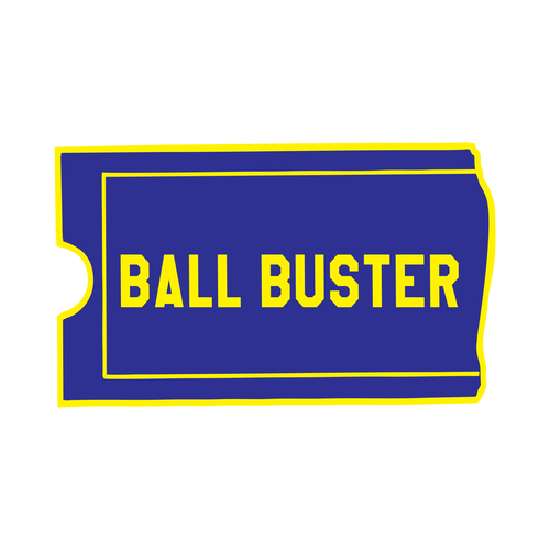 Ball Buster Knob Sticker
