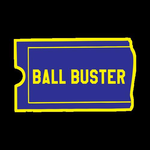 Ball Buster Knob Sticker