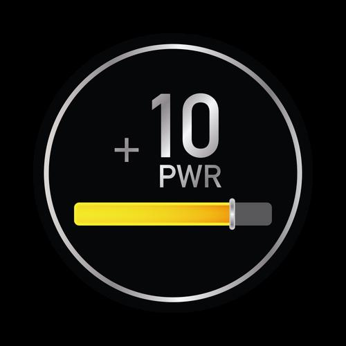 10+ Power Knob Sticker