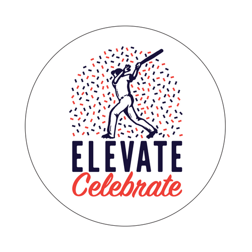 Elevate And Celebrate Knob Sticker
