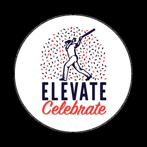 Elevate And Celebrate Knob Sticker
