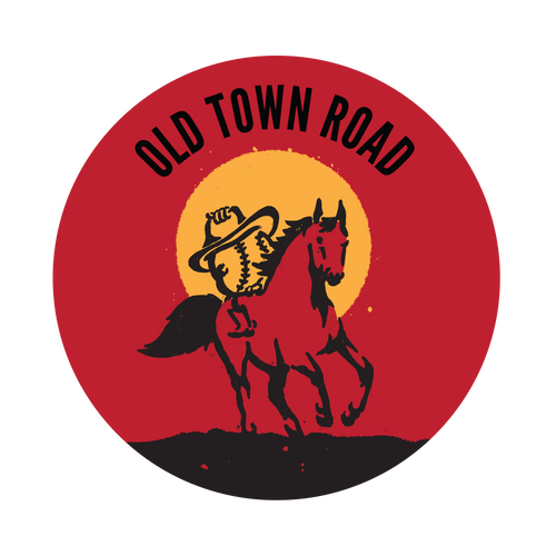Old Town Road Knob Sticker