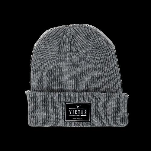 Victus Emblem Knit Hat
