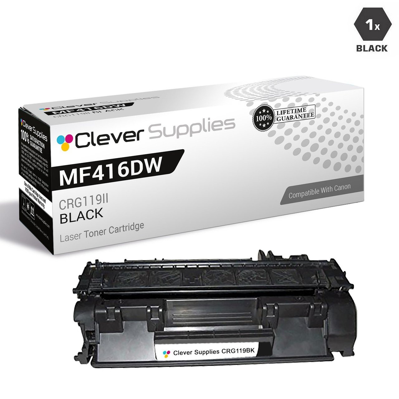 Toner Eagle Re-Manufactured Toner Cartridge Compatible with Canon Imageclass MF414 MF414dw MF416 MF416dw MF419 MF419dw Black 3479B001AA Type 119