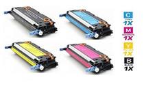 CS Compatible Replacement for HP 3000DN Color Laserjet 4 Color Set