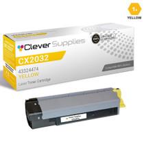 Compatible Okidata 43324474 Laser Toner Cartridge Yellow