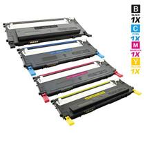 Compatible Samsung CLP-310N Laser Toner Cartridges 4 Color Set