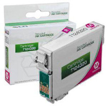 Compatible 210-Page Epson 124 Magenta Moderate-Capacity Ink Cartridge/ T124320