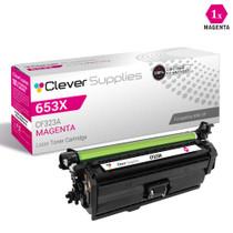 CS Compatible Replacement for HP CF323A Toner Cartridge Magenta/ HP 653A Toner
