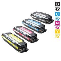 CS Compatible Replacement for HP 3750 Toner Cartridge Color Laserjet 4 Color Set
