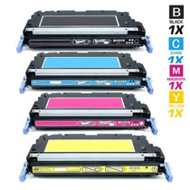 CS Compatible Replacement for HP 3800 Toner Cartridges 4 Color Set