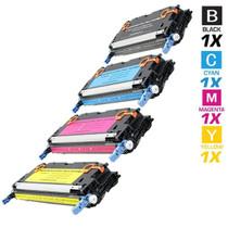 CS Compatible Replacement for HP 4730mfp Toner Cartridge Color Laserjet 4 Color Set