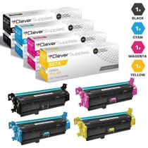 CS Compatible Replacement for HP 500 Color M551xh Toner Cartridge Color Laserjet 4 Color Set