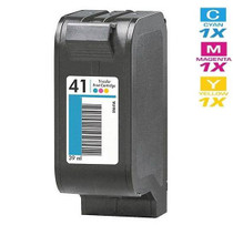 CS Compatible Replacement for HP Deskjet 850 Ink Cartridge Remanufactured Tri Color