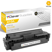 CS Compatible Replacement for HP CF412A (HP-410A) Laser Toner Cartridge Yellow