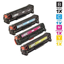 CS Compatible Replacement for HP CM1300 Toner Cartridge Color Laserjet 4 Color Set