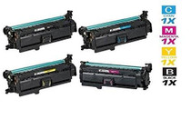 CS Compatible Replacement for HP Enterprise 500 Color Printer M551n Toner Cartridge Color Laserjet 4 Color Set