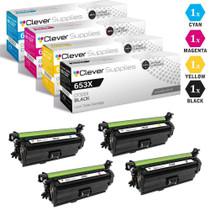 CS Compatible Replacement for HP Enterprise 600 MFP Color M675 Toner Cartridge Color Laserjet 4 Color Set