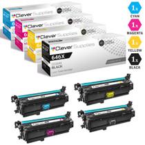 CS Compatible Replacement for HP Enterprise CM4540f Toner Cartridge Color Laserjet 4 Color Set