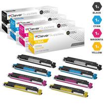 CS Compatible Replacement for HP Pro 100 color MFP M176 Toner Cartridge Color Laserjet 4 Color Set