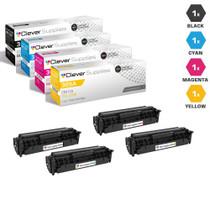 CS Compatible Replacement for HP Pro 400 Color M451nw Toner Cartridge Color Laserjet 4 Color Set