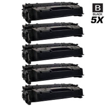 Compatible Canon 120 (2617B001AA) Toner Cartridges Black 5 Pack
