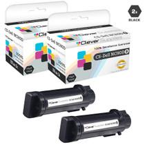 Compatible Dell NCH0D Laser Toner Cartridges Black 2 Pack