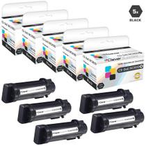 Compatible Dell NCH0D Laser Toner Cartridges Black 5 Pack