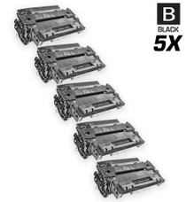 CS Compatible Replacement for HP Q6511A Toner Cartridge Black 5 Pack/ HP 11A Toner