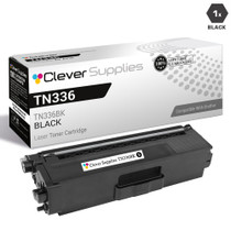 Compatible Brother TN336BK Laser Toner Cartridge High Yield Black
