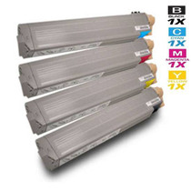 Compatible Xerox Laser Toner Cartridges High Yield 4 Color Set (106R01080/ 106R01077/ 106R01078/ 106R01079)