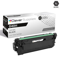 Compatible Canon 040H Toner Cartridges Black (040HBK)