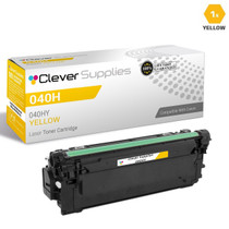Compatible Canon 040H Toner Cartridges Yellow (040HY)