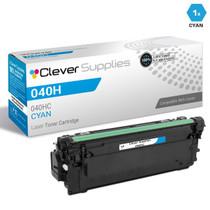 Compatible Canon 040H Toner Cartridges Cyan (040HC)
