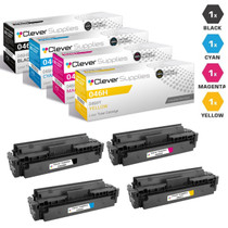 Compatible Canon 046H Toner Cartridges 4 Color Set (046HBK, 046HY, 046HM, 046HC)