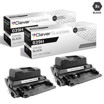 Compatible Canon 039H Toner Cartridges Black 2 Pack (039HBK)