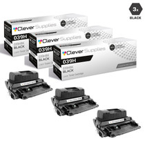 Compatible Canon 039H Toner Cartridges Black 3 Pack (039HBK)
