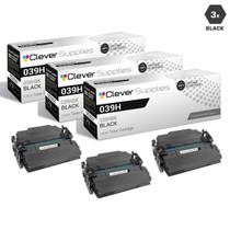 Compatible Canon 041H Toner Cartridges Black 3 Pack (041HBk)