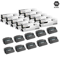 Compatible Canon 041H Toner Cartridges Black 10 Pack (041HBk)