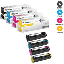 Compatible Canon ImageClass LBP7110CW Toner Cartridge 4 Color Set (131BK, 131Y, 131M, 131C)