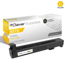 CS Compatible Replacement for HP 827A Toner Cartridges Yellow (CF302A)